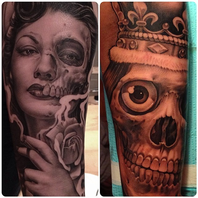 Tattoo artist specializing in photorealism